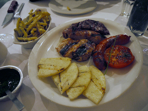 Beef plate at taurus