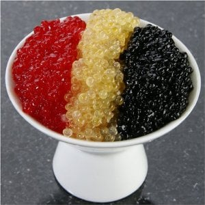 Whitefish Caviar Sampler 6 oz - Golden, Black & Red