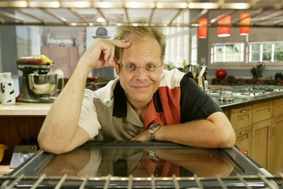 Alton Brown of the Food Network's Good Eats