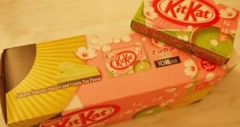 Cherry Blossom & Green Tea Kit Kat Box