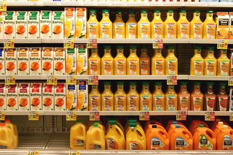 Orange-Juice-in-the-Grocery