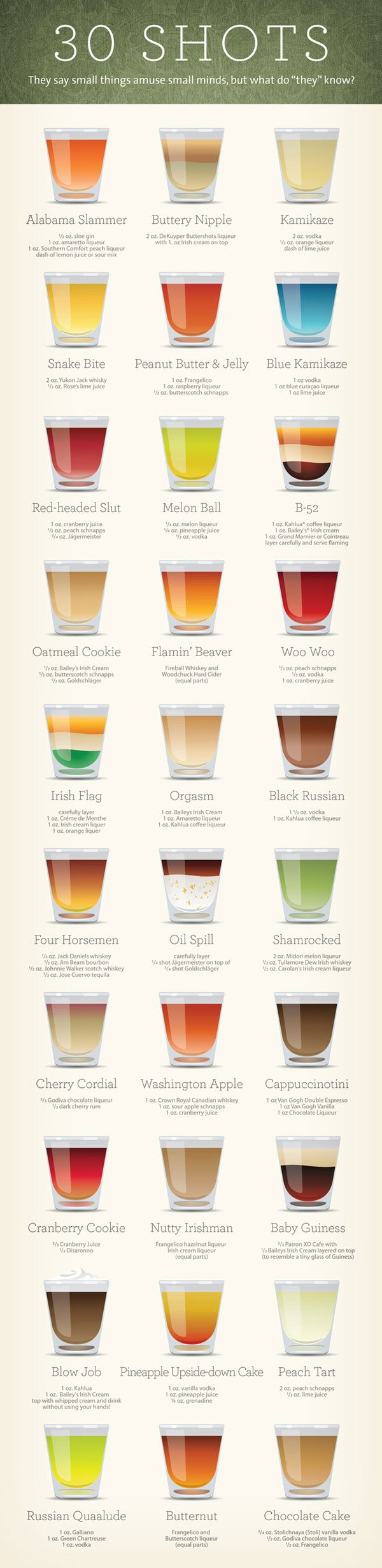 Cocktail-Drink-Infographic
