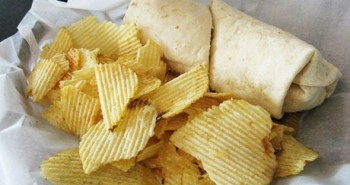 Wrap-with-Potato-Chips