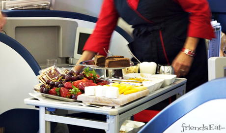 Delta-Airlines-First-Class-Dessert-Cart