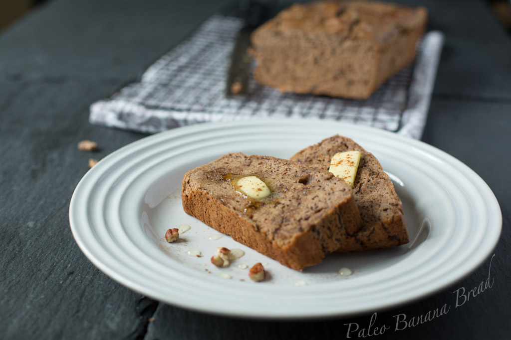 Banana Bread recipe for the Paleo diet
