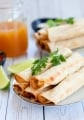 Baked Chicken Flautas